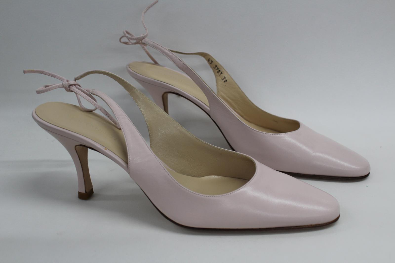 L-K-Bennett-London-en-cuir-avec-Lumiere-Rose-Slim-Chaussures-a-talon-UK6-EU39-nouveau miniature 2
