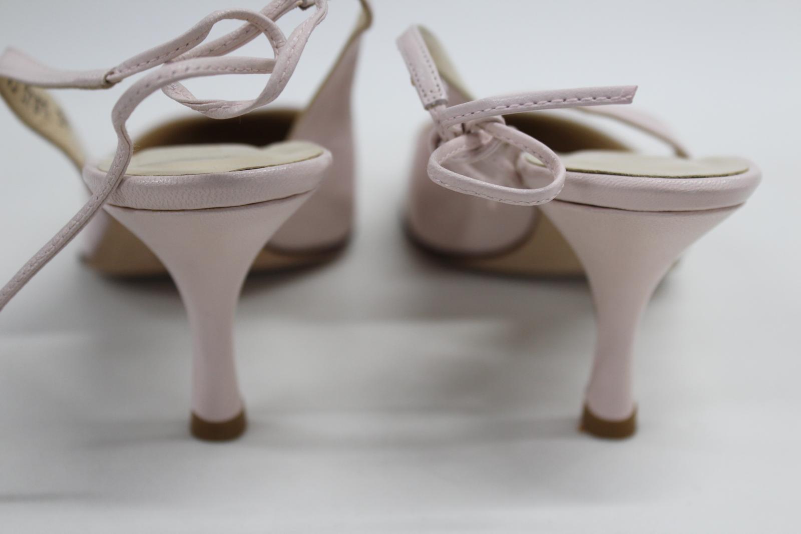 L-K-Bennett-London-en-cuir-avec-Lumiere-Rose-Slim-Chaussures-a-talon-UK6-EU39-nouveau miniature 5