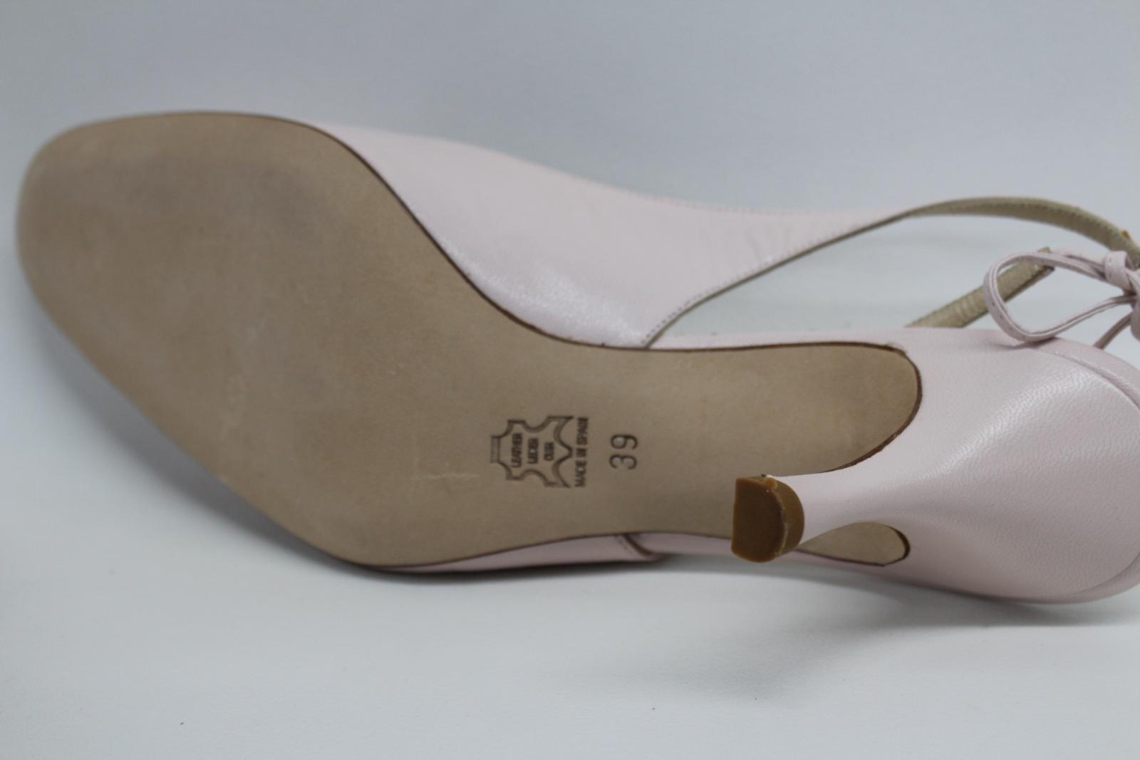L-K-Bennett-London-en-cuir-avec-Lumiere-Rose-Slim-Chaussures-a-talon-UK6-EU39-nouveau miniature 7