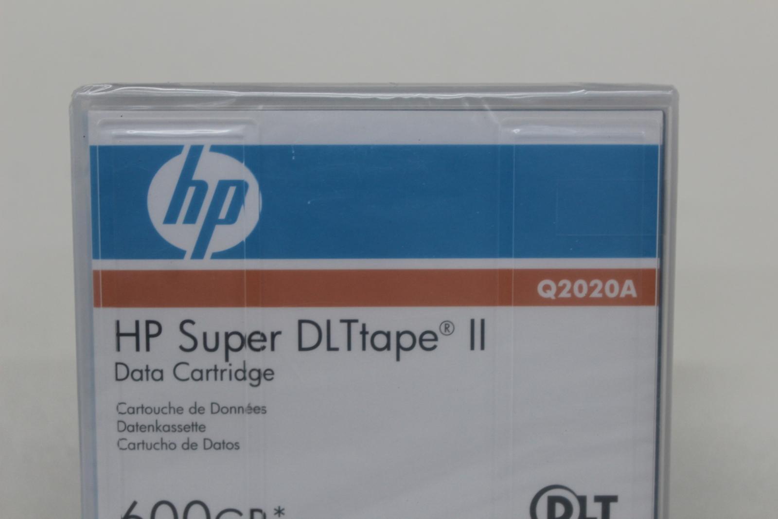 HP-Q2020A-Super-DLtape-II-Data-Tape-Square-cartouche-600-Go-job-lot-4x-NEUF miniature 5