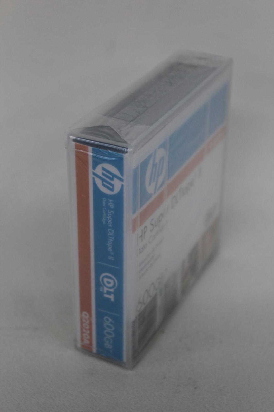 HP-Q2020A-Super-DLtape-II-Data-Tape-Square-cartouche-600-Go-job-lot-4x-NEUF miniature 7