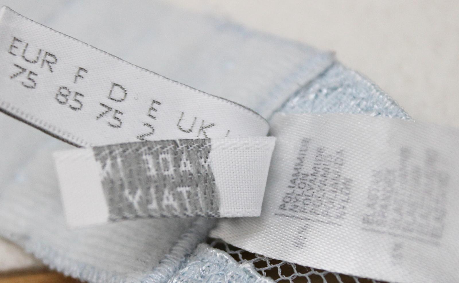 LA-PERLA-Ladies-Light-Blue-Lace-Halterneck-Unwired-Delicate-Bra-Size-UK34 thumbnail 11