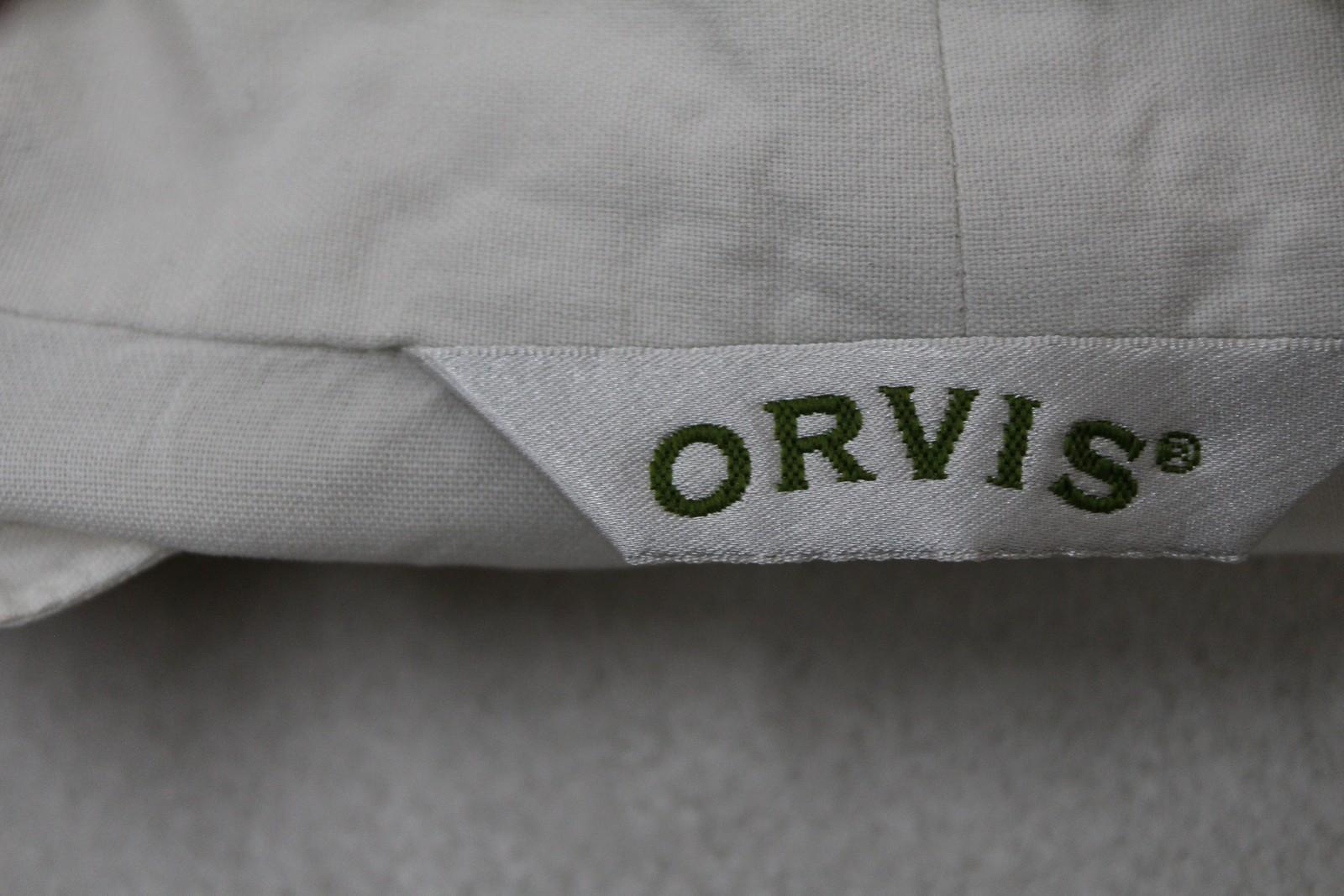 Orvis-Damas-Marfil-Seda-manga-larga-escote-en-forma-de-V-Blusa-Talla-S-UK6-8 miniatura 8