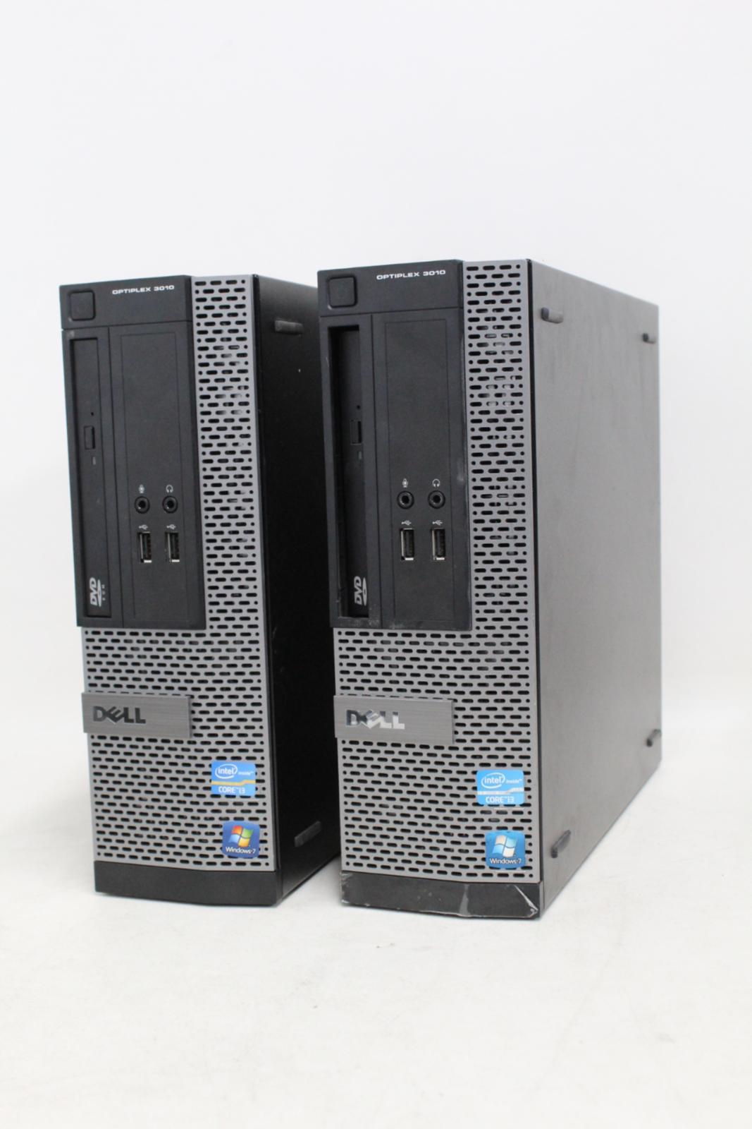 Dell-OptiPlex-3010-Intel-Core-i3-3220-3-3GHz-4GB-RAM-SFF-PC-de-escritorio-sin-disco-duro-2x miniatura 2