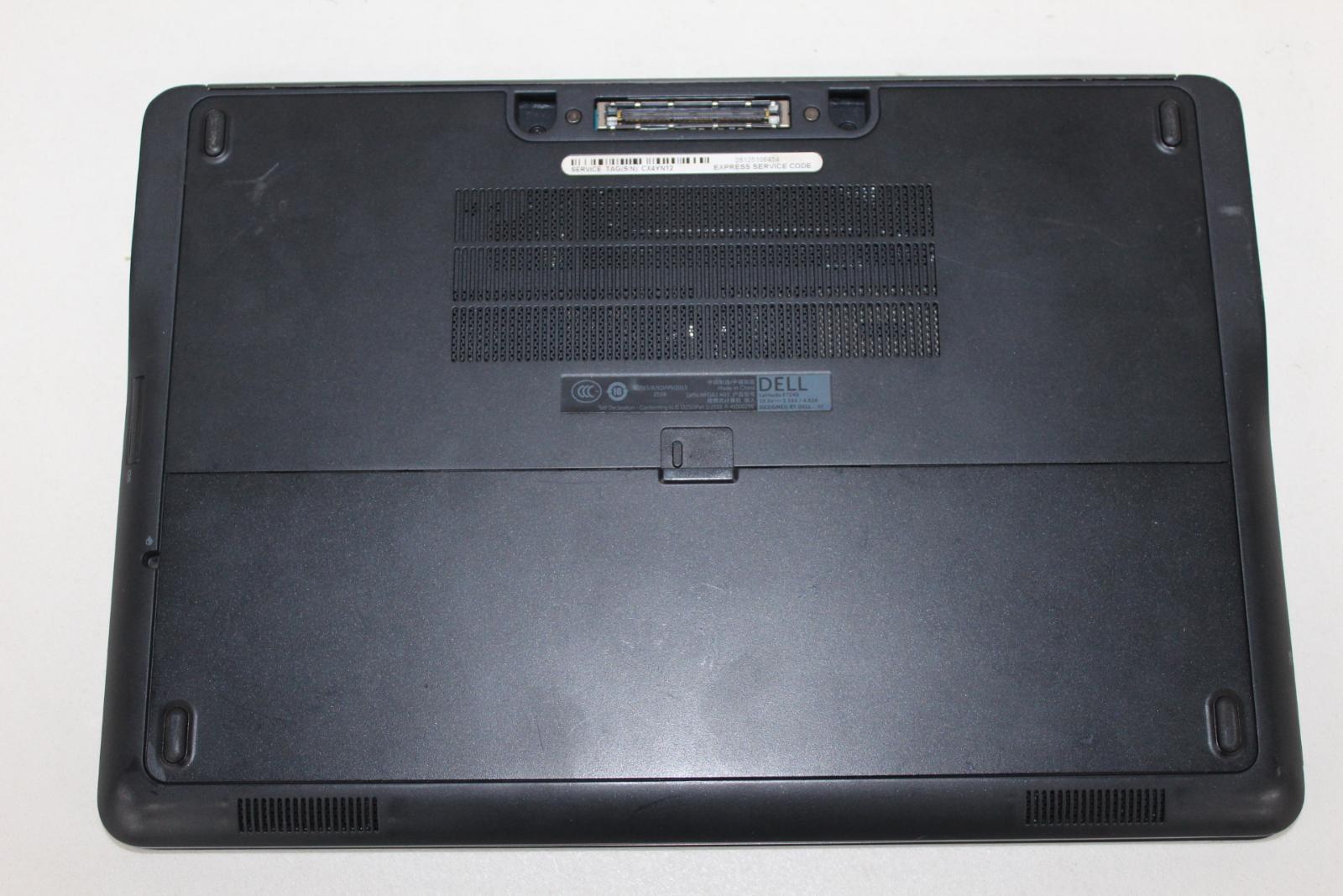 DELL-Latitude-E7240-Argent-IntelCore-i7-vPro-12-034-sans-disque-dur-RAM-ordinateur-portable miniature 8