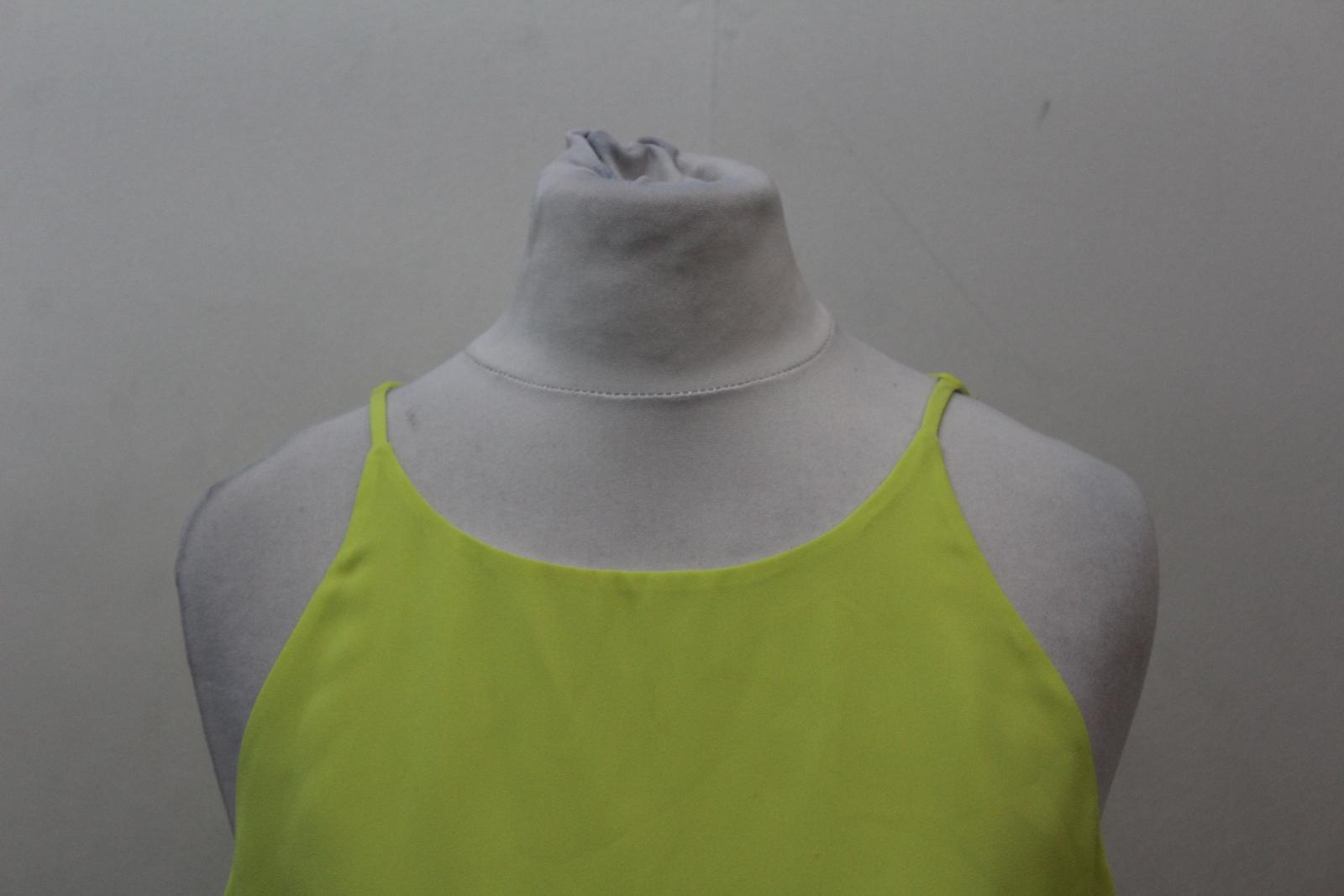 Neck White Elizabeth Yellow amp; James Crop And Scoope Layered Ladies Xxs Top Size w11q0SXB