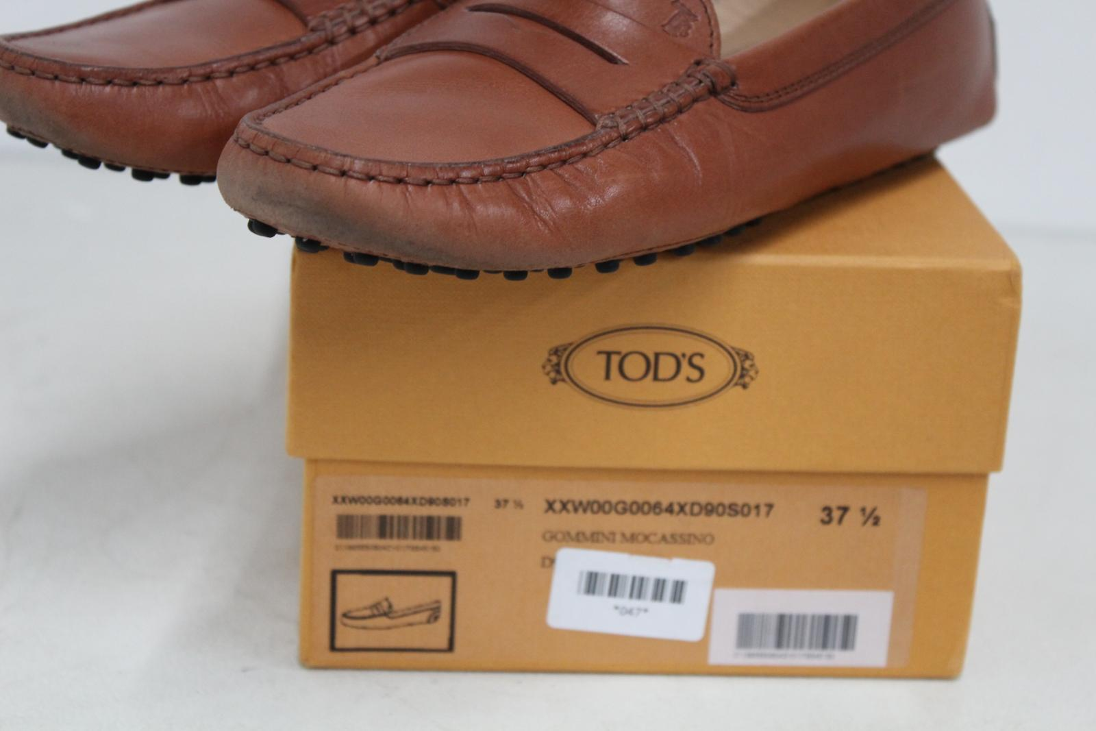 TODS-Ladies-Light-Brown-Flat-Shoes-Gommini-Mocassino-Loafers-UK-5-EU37-5 thumbnail 11