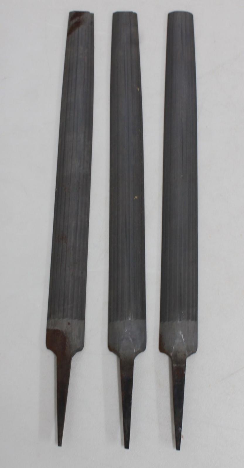 3-X-trabajo-de-madera-y-metal-Nicholson-Medio-Redondo-14-034-archivos-de-mano-corte-suave-30mm miniatura 3