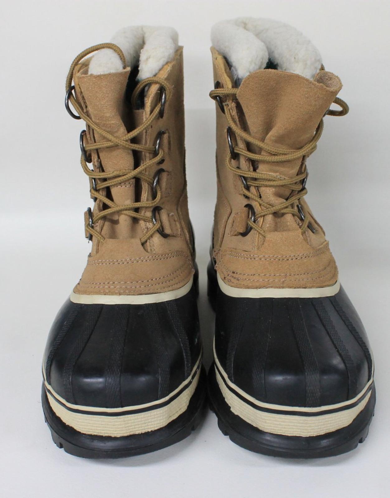 cuero de Outbrook nieve la hombre10 Botas caucho de para invierno impermeable en para forrado de hombre Brown para fieltro qOwzwE8
