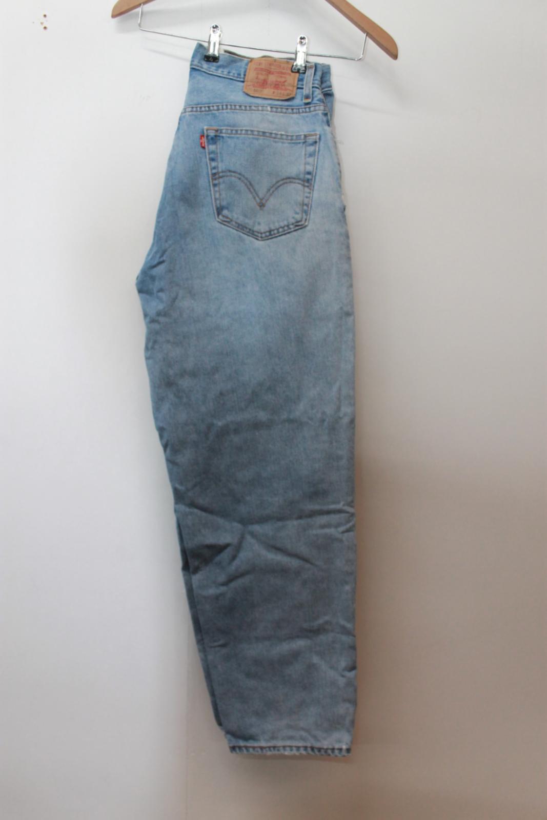medio Levi's strappati lavaggio L32 jeans Jeans 560 comfort uomo W34 taglia blu In7ndq