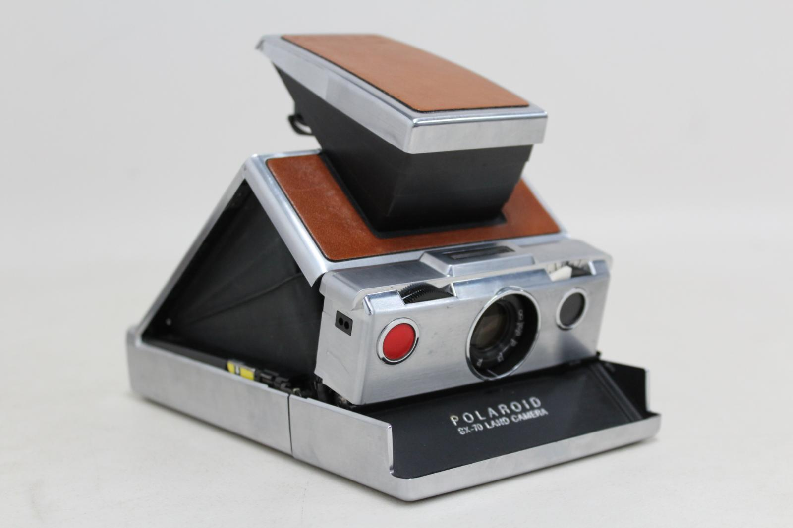 POLAROID SX-70 Land Camera Leather Body Vintage With Original Leather Bag  10 10 of 12 ... 979dbf8ecce