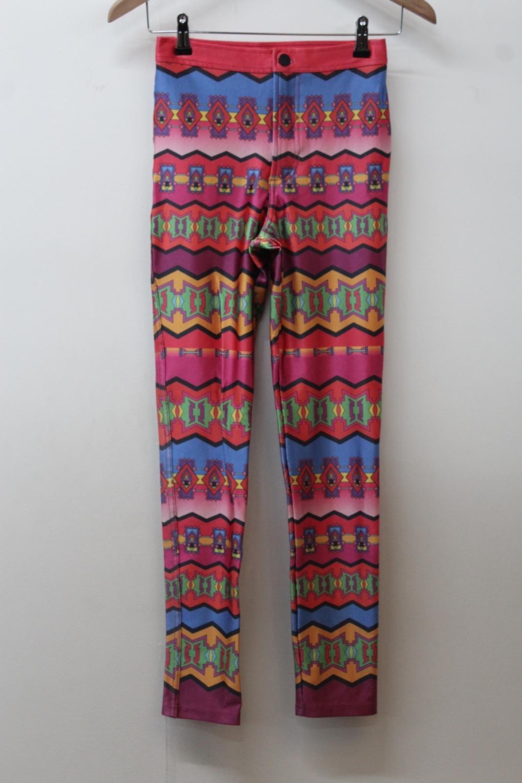 Multicolore Pants Max Pantalons Imprimante For American Pantalons S Disco Neo Apparel xX40wH01