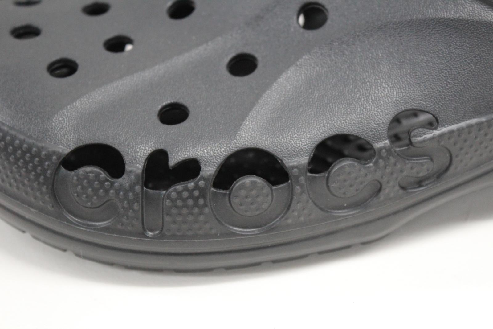 cc8415c91985 CROCS Mens Baya Black Summer Beach Casual Comfort Shoes Sandals Size ...