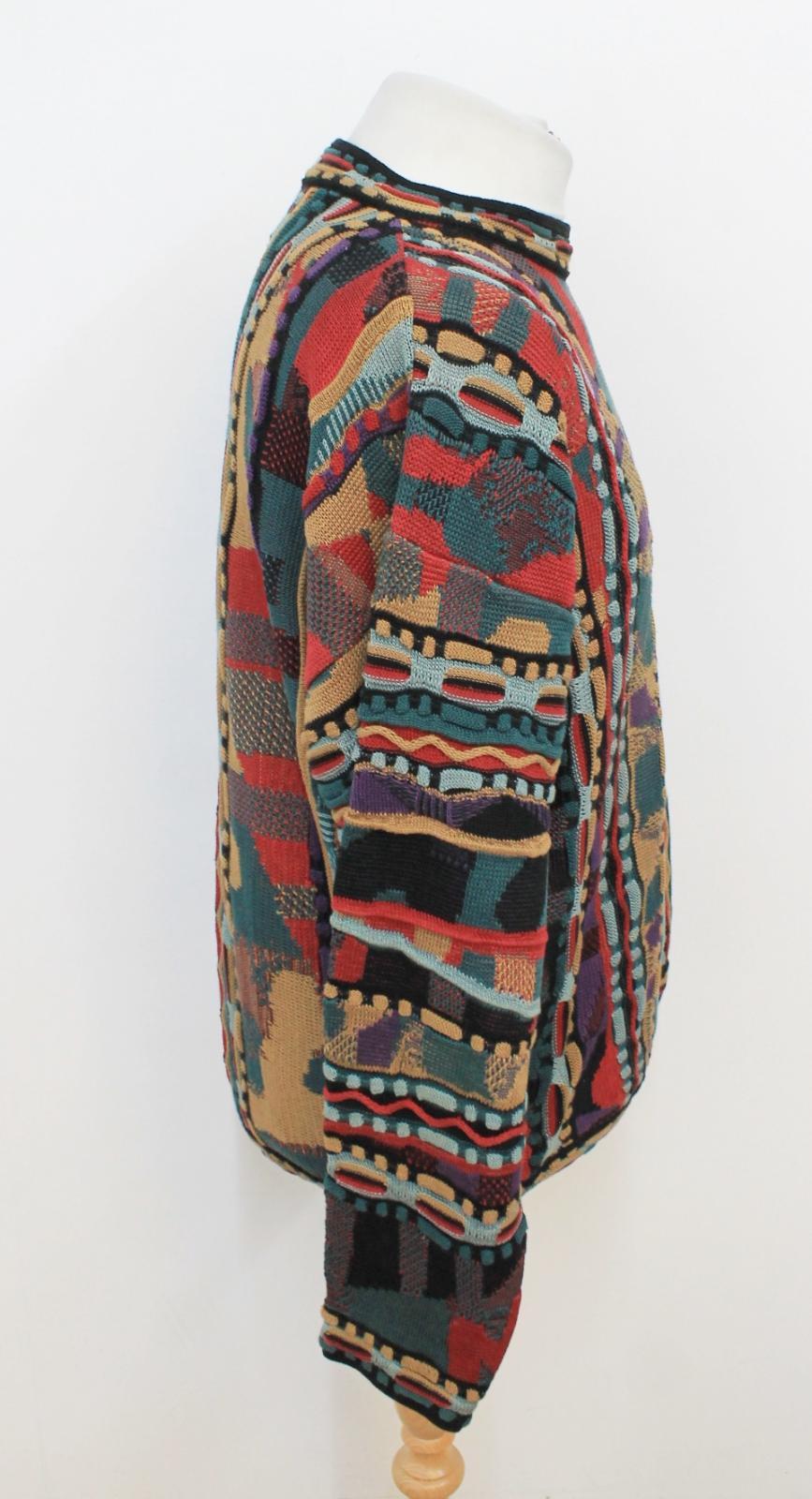 per uomo taglia lunghe stile Tosani Xl maniche Coogie Maglia lunghe a maniche in cotone a xRpgaqw