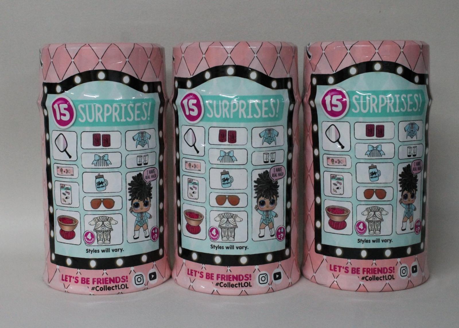 3-X-nuevo-l-o-l-sorpresa-Hairgoals-Makeover-serie-Muneca-Y-Accesorios-Set miniatura 3