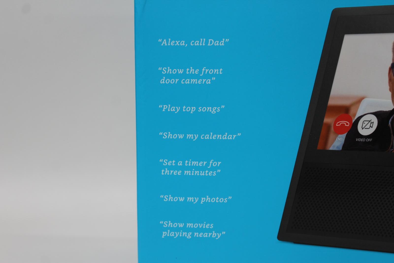 AMAZON-Echo-Show-Alexa-Smart-Assistant-Black-1st-Generation-7-034-Display-NEW thumbnail 3