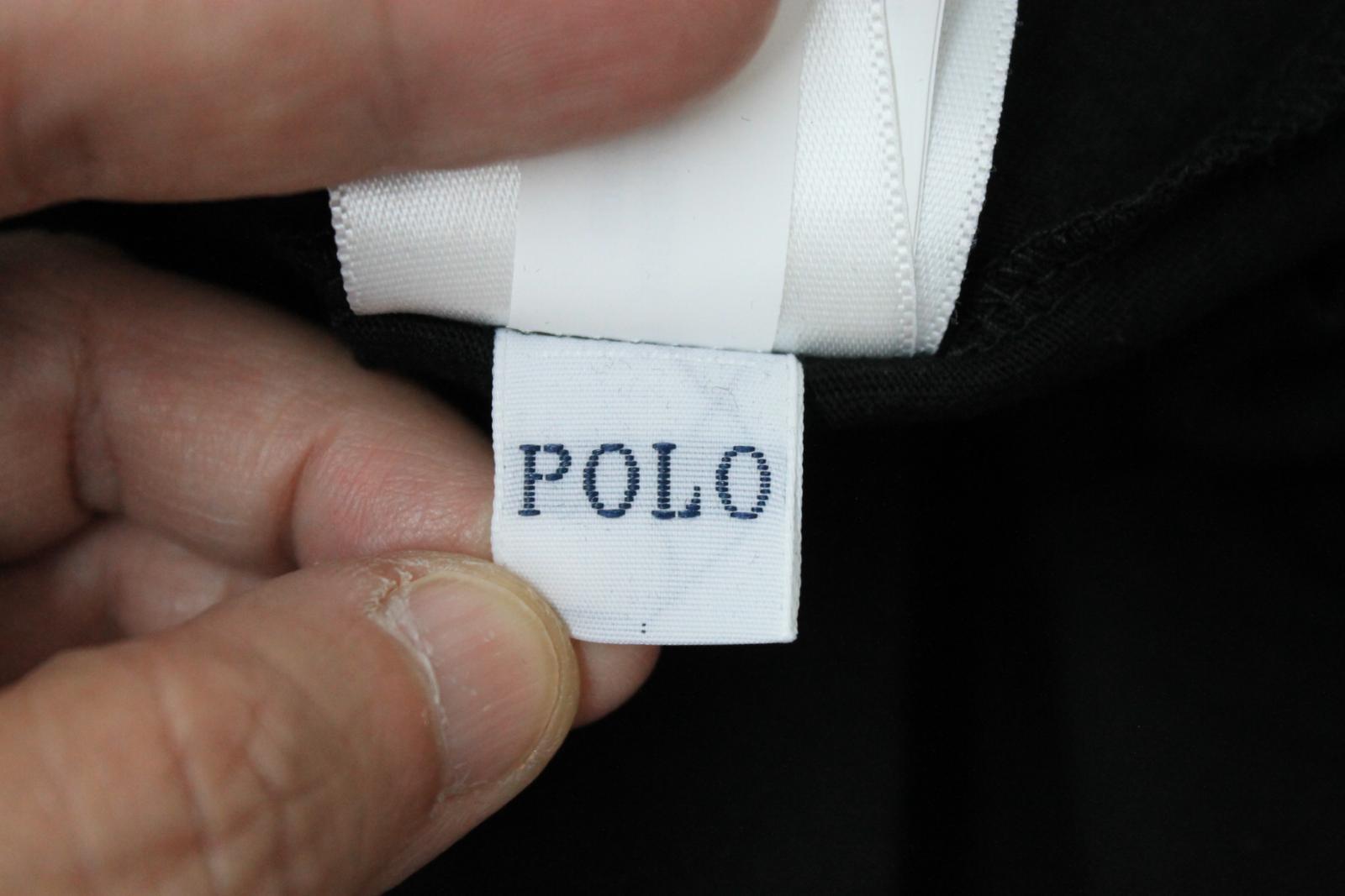 Ralph-Lauren-Polo-para-hombre-de-Big-Pony-Negra-manga-corta-camiseta-tamano-5XB-BNWT miniatura 11