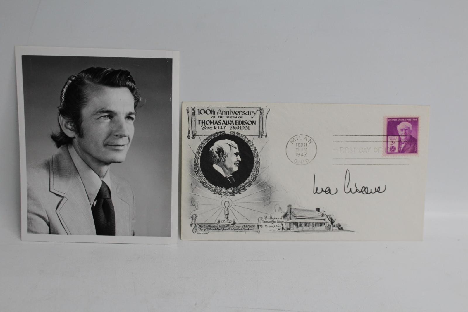 IVAR-GIAEVER-Signed-FDC-Autographed-First-Day-Cover-Nobel-Prize-Winner-Photo miniatura 2