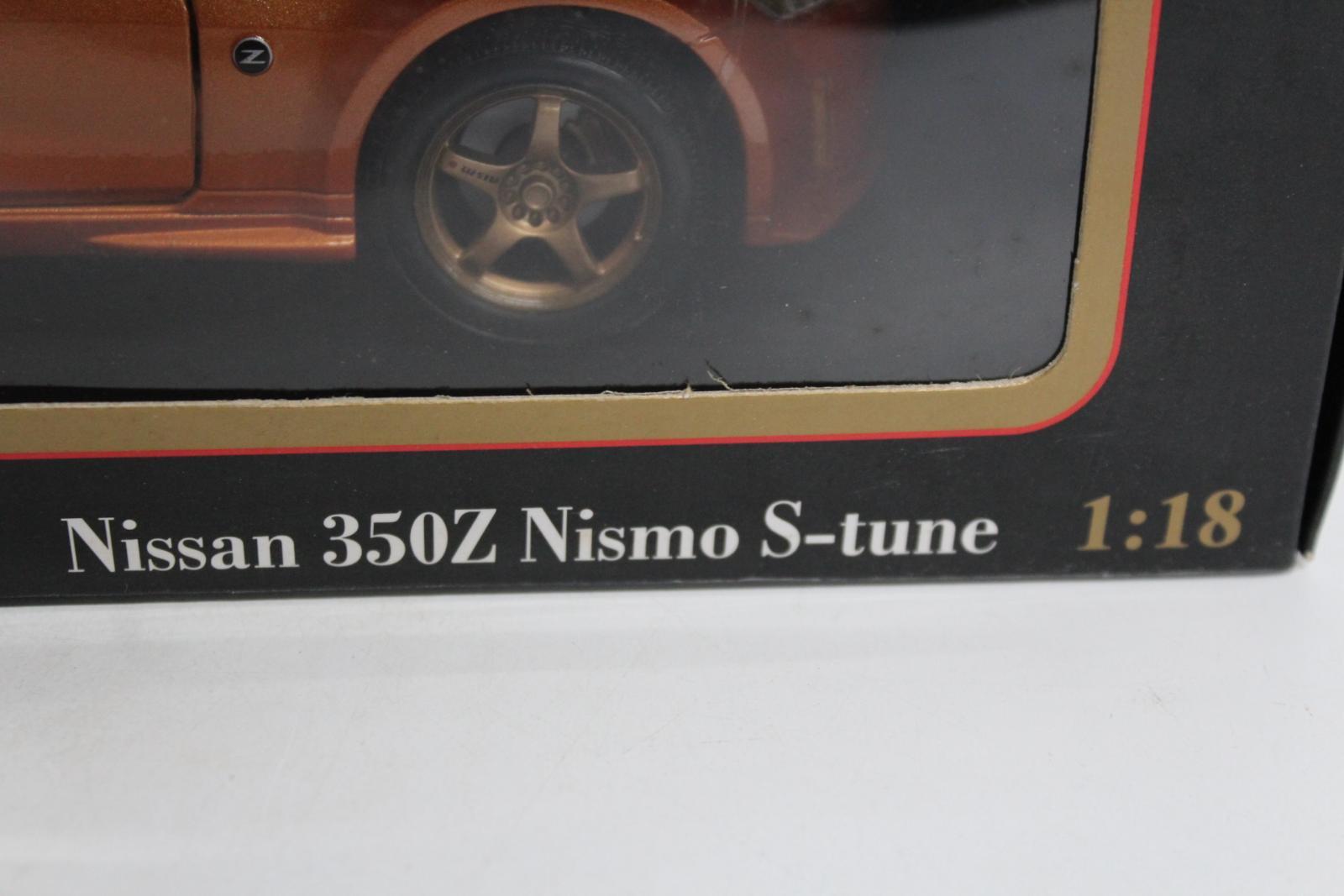 Maisto-31688-EDICIoN-Especial-Nissan-350z-Nismo-S-Tune-1-18-Escala-Modelo-de-Coche-Nuevo miniatura 5