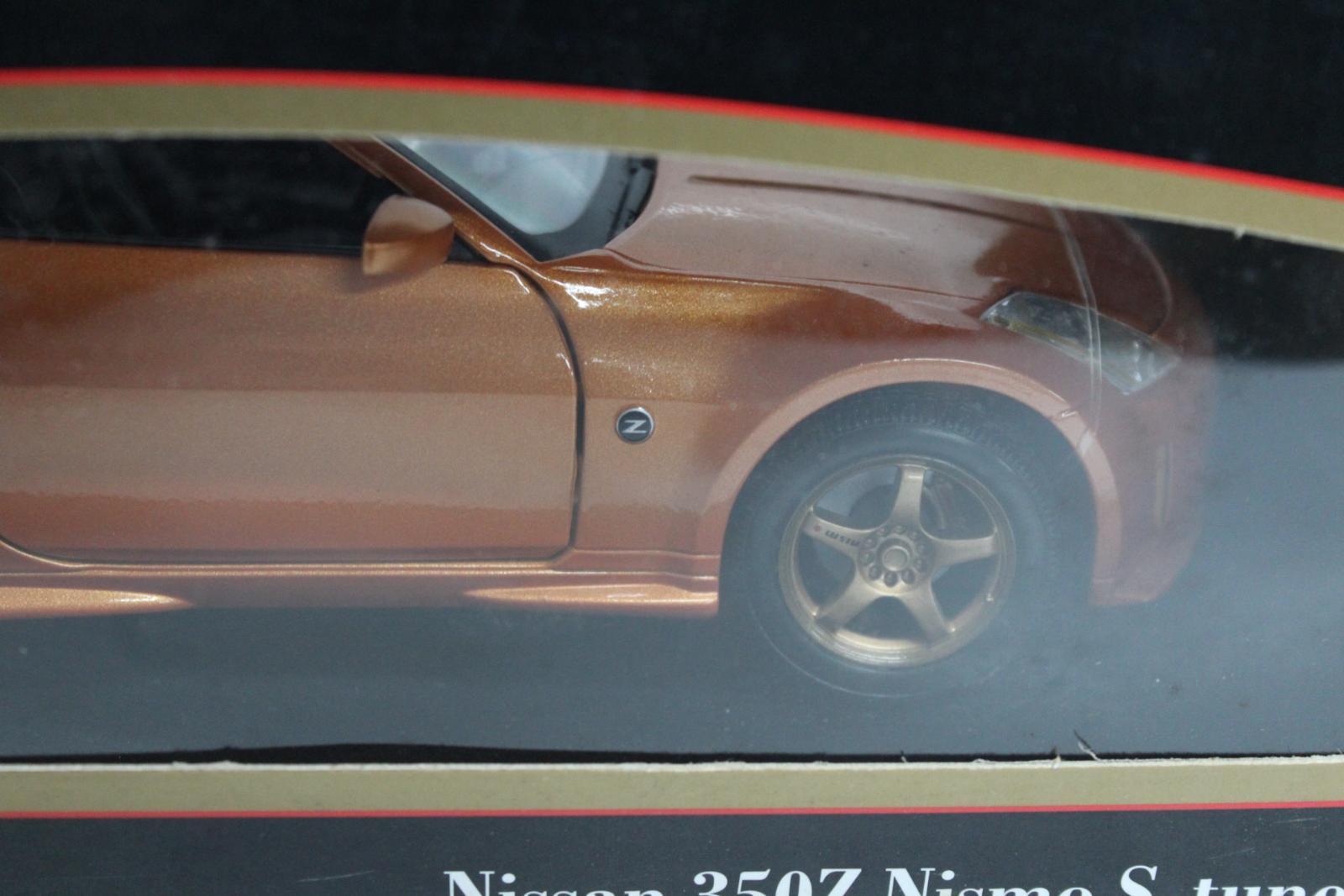 Maisto-31688-EDICIoN-Especial-Nissan-350z-Nismo-S-Tune-1-18-Escala-Modelo-de-Coche-Nuevo miniatura 6