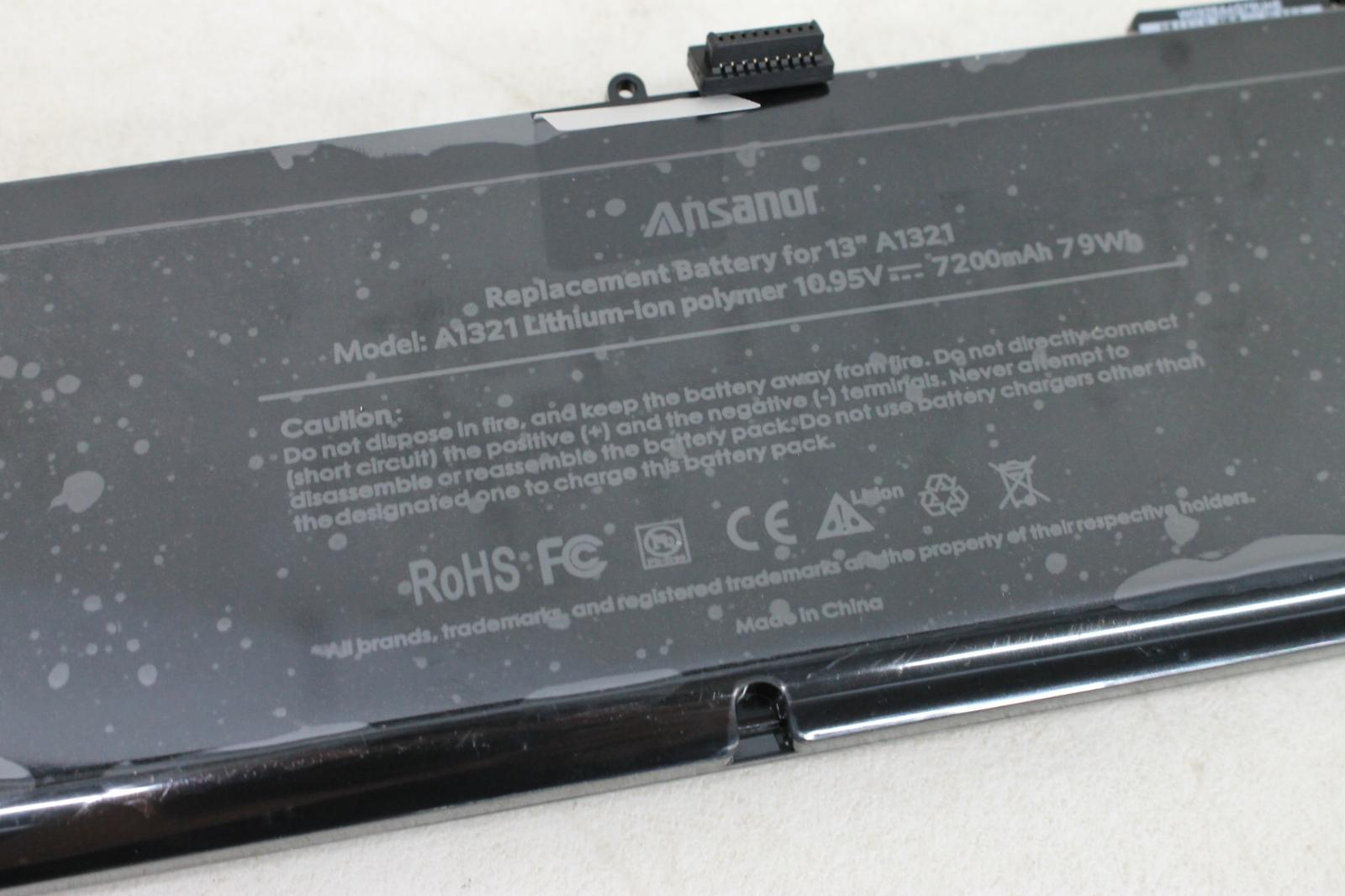 ANSANOR-10-95V-7200mAh-A1321-Type-Battery-For-Mid-2009-2010-MacBook-Pro-15-034-BNIB miniatuur 4