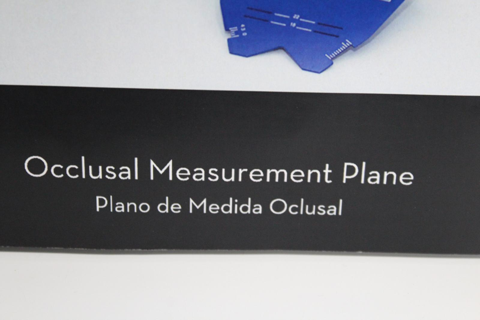 KOLBECK Blue Dental Teeth Occlusal Measurement Plane With Instruction Guide 5