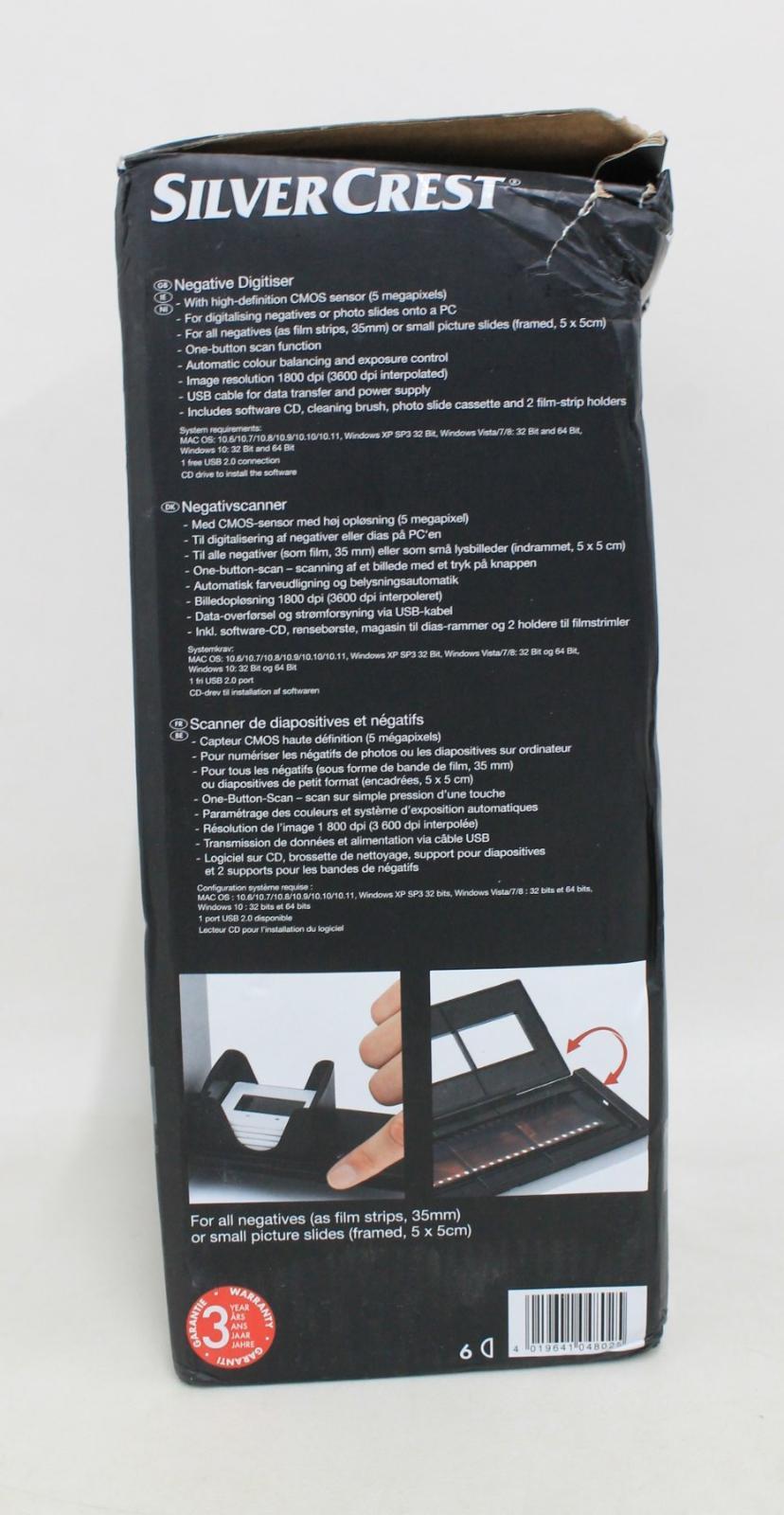 SILVERCREST-Negative-amp-Slide-Digitiser-Scanner-w-5MP-HD-CMOS-Sensor-NEW thumbnail 9