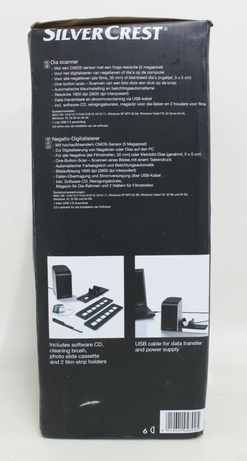 SILVERCREST-Negative-amp-Slide-Digitiser-Scanner-w-5MP-HD-CMOS-Sensor-NEW thumbnail 11