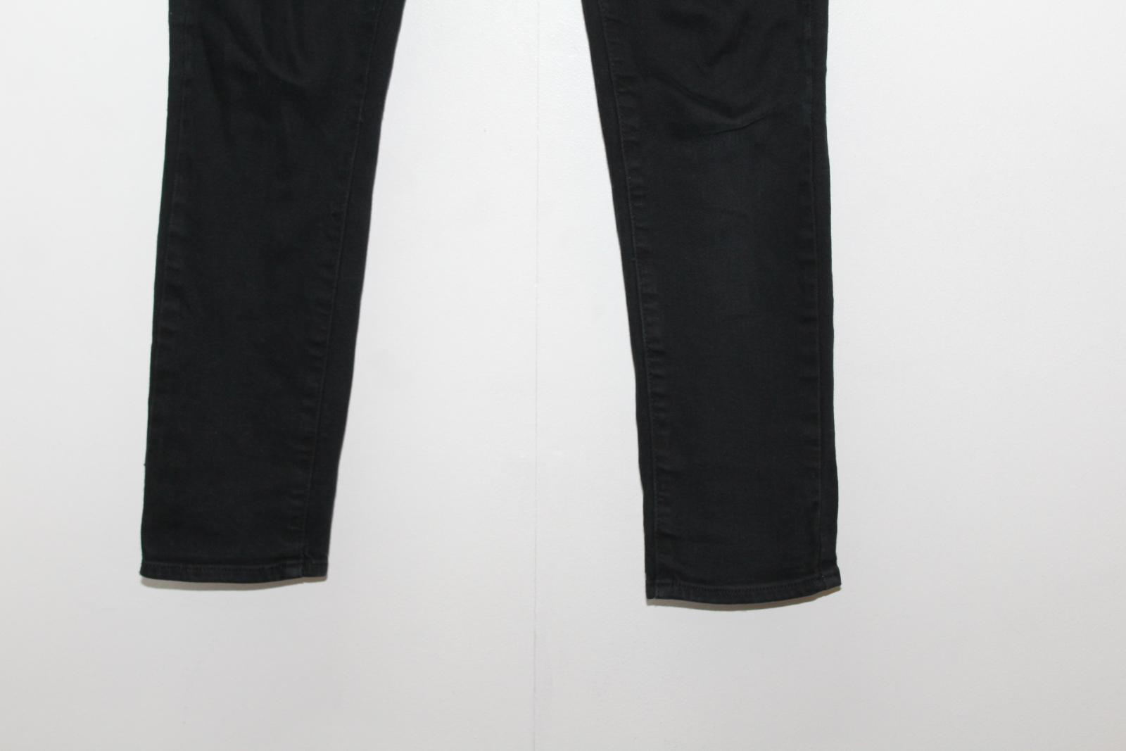 L28 Skyline Black caviglia W25 Paige Ladies Jeans cinturino Cotton con Blend alla Low Rise ORCwqF
