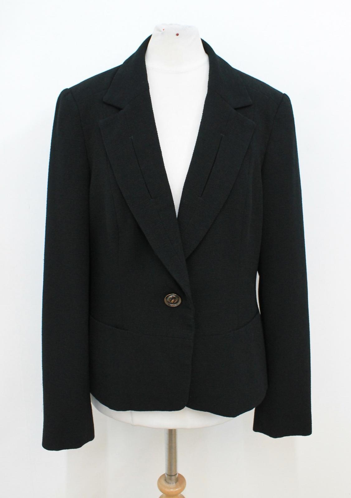 imbottito Uk10 spalle taglia Ladies nero Planet monopetto giacca B0nvERqS