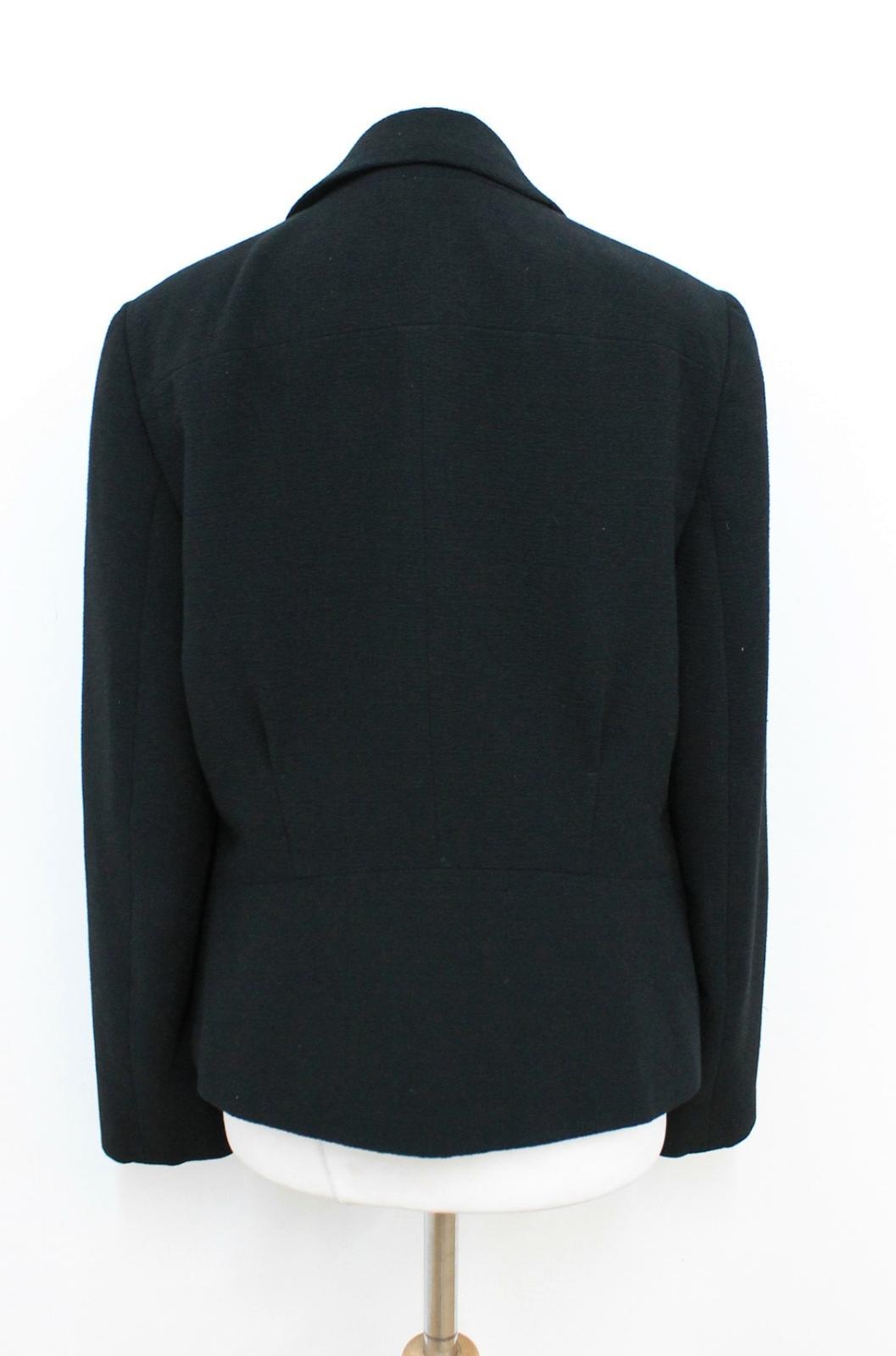 spalle Ladies Uk10 monopetto nero Planet giacca imbottito taglia RIw6PqP