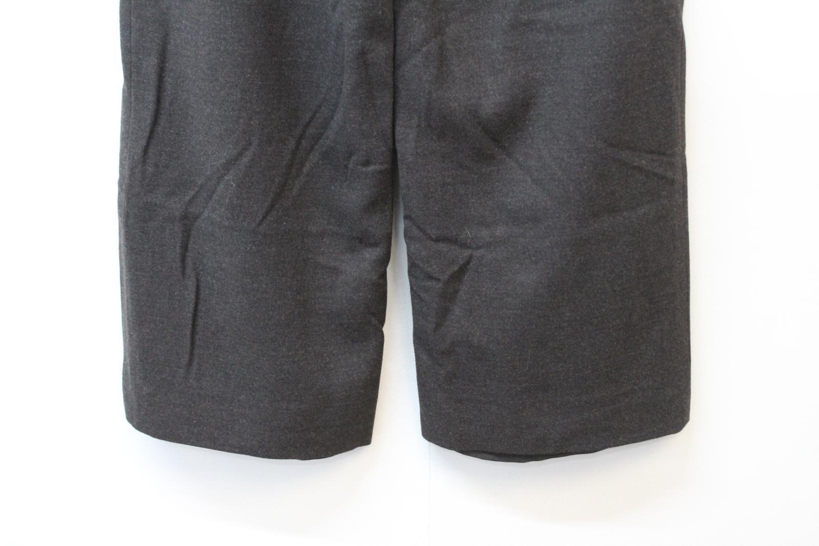 ARMANI Collezioni Donna Marronee Scuro Screziato Pantaloni Pantaloni Pantaloni su misura US8 UK12 W26 L26 NUOVO CON ETICHETTA 5bef99