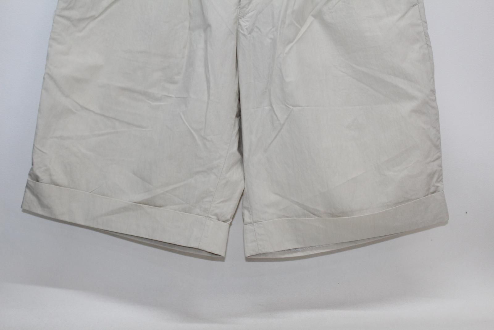 bianco bicchierini frontali taglia cotone in scuro W30 piatti beige Hurwundeki e Pantaloncini uomo da Upn0wqx4