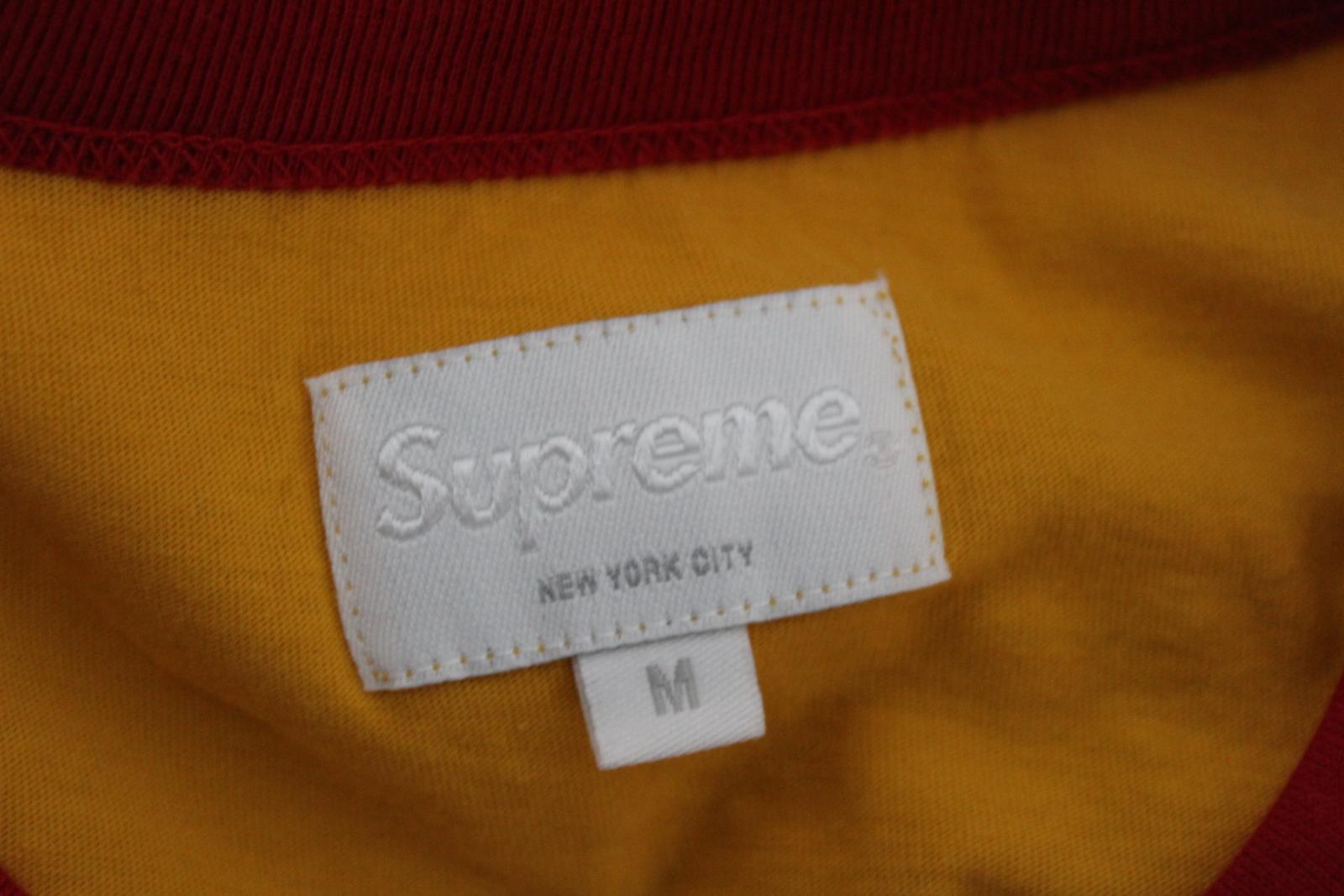f200756e9e19 SUPREME Men's Yellow Cotton Short Sleeve Vampirella Graphic T-Shirt Size M  9 9 of 12 See More
