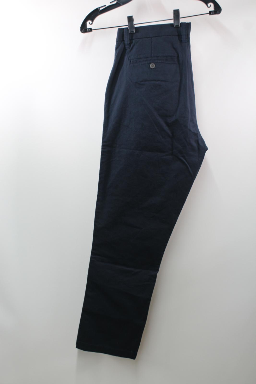 BNWT R.M. R.M. R.M. WILLIAMS Men's Navy Blau Stretch Cotton Trousers Chinos W36 L30 3de962