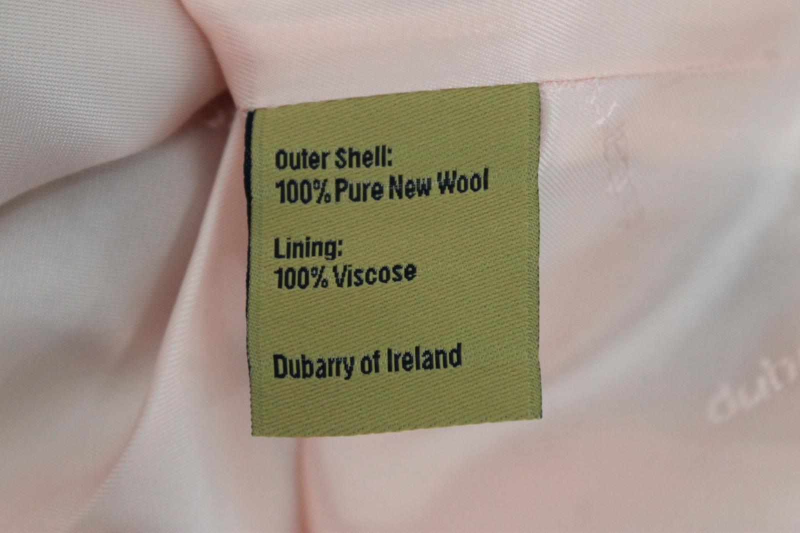 BNWT DUBARRY Ladies grau Tweed Wool Buckle Buckle Buckle Detail Pleated Mini Skirt UK8 a36f68