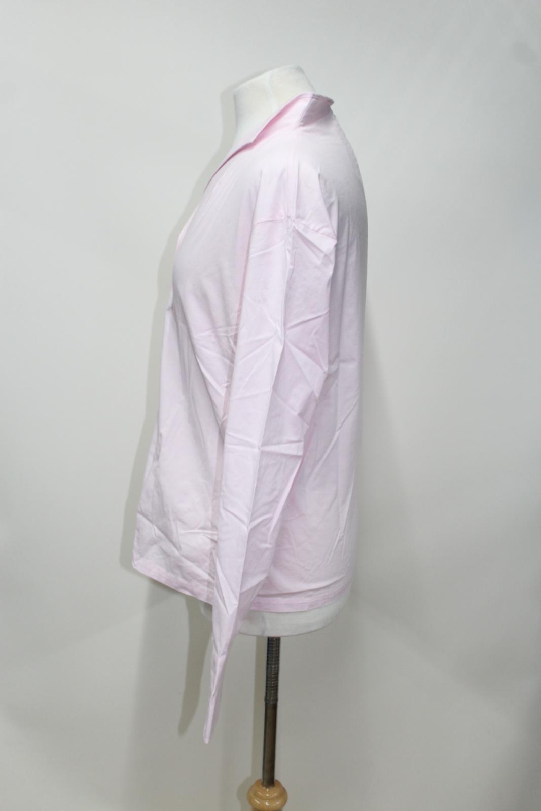 Rose Dames Col Manches Longues Dubarry Bnwt Chemise Uk18 Stretch Portrait Portrait Coton 1xwpqpaE