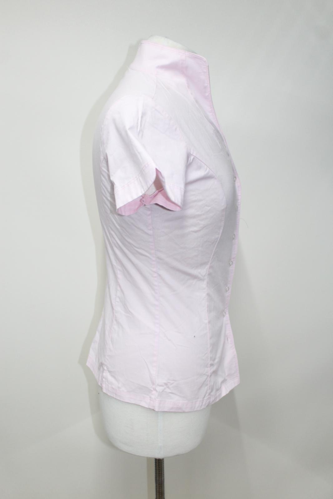 Starflower Collar Ladies Uk16 Bnwt Dubarry Portrait Cotton Shirt Stretch Pink fqRRaP