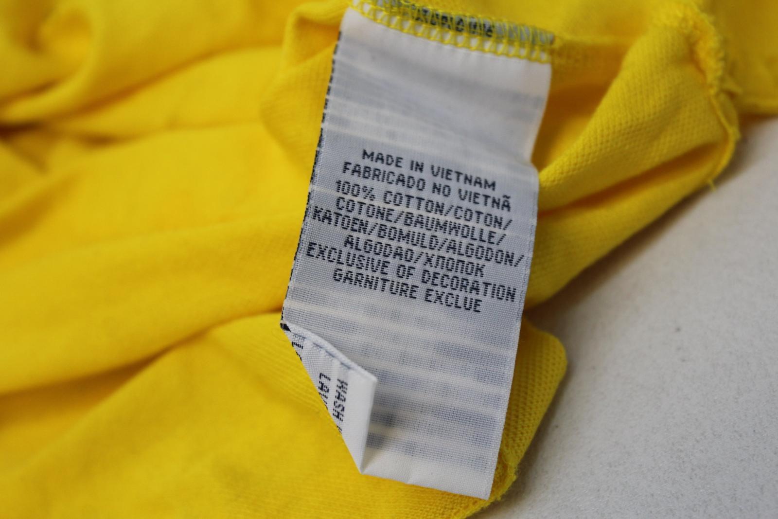 Ralph-Lauren-Polo-para-hombre-de-Amarillo-De-Algodon-Manga-Corta-Camisa-Polo-De-Ajuste-Personalizado miniatura 8