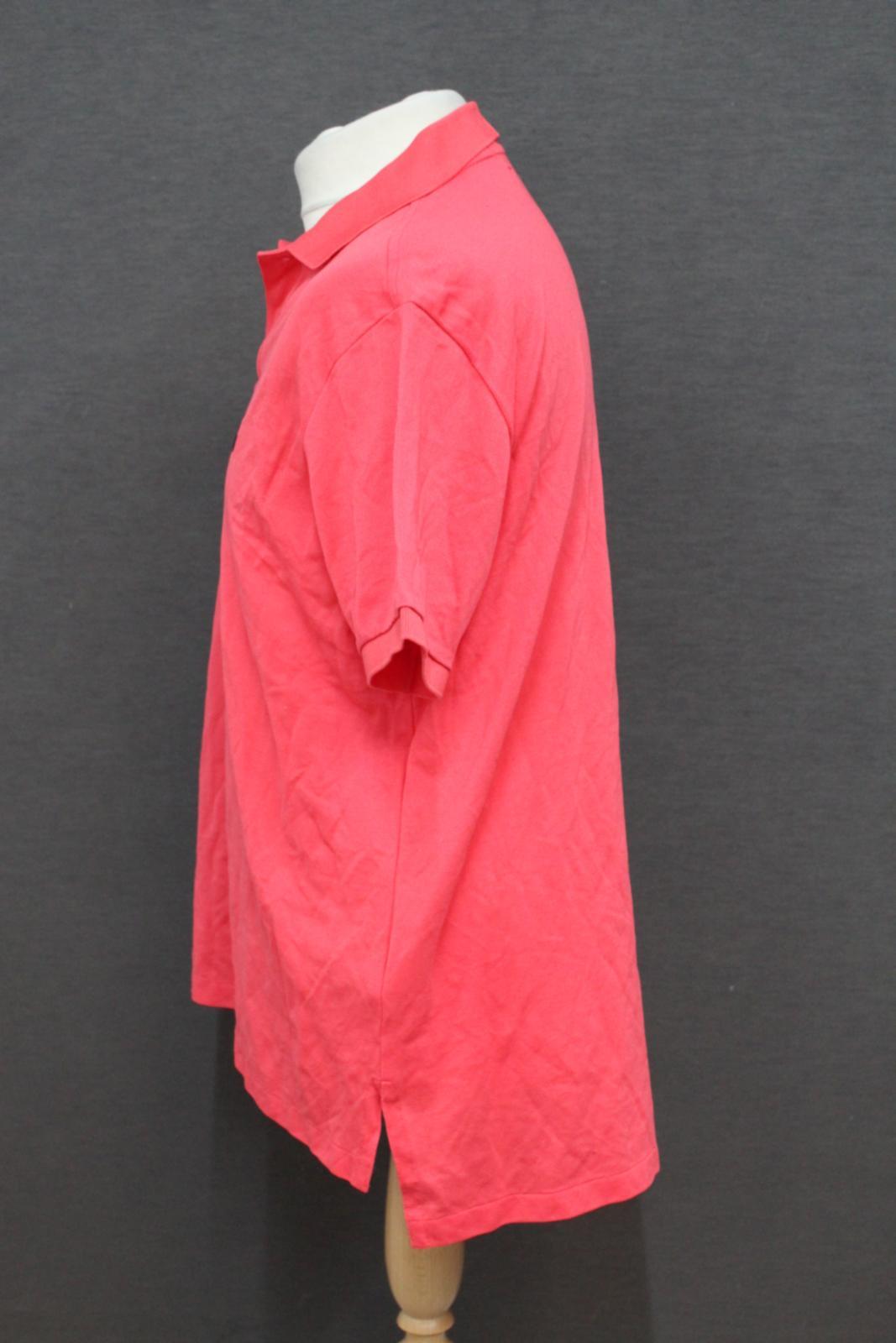 Ralph-Lauren-Polo-para-hombre-de-color-rosa-de-algodon-Manga-Corta-Camisa-Polo-De-Ajuste miniatura 3
