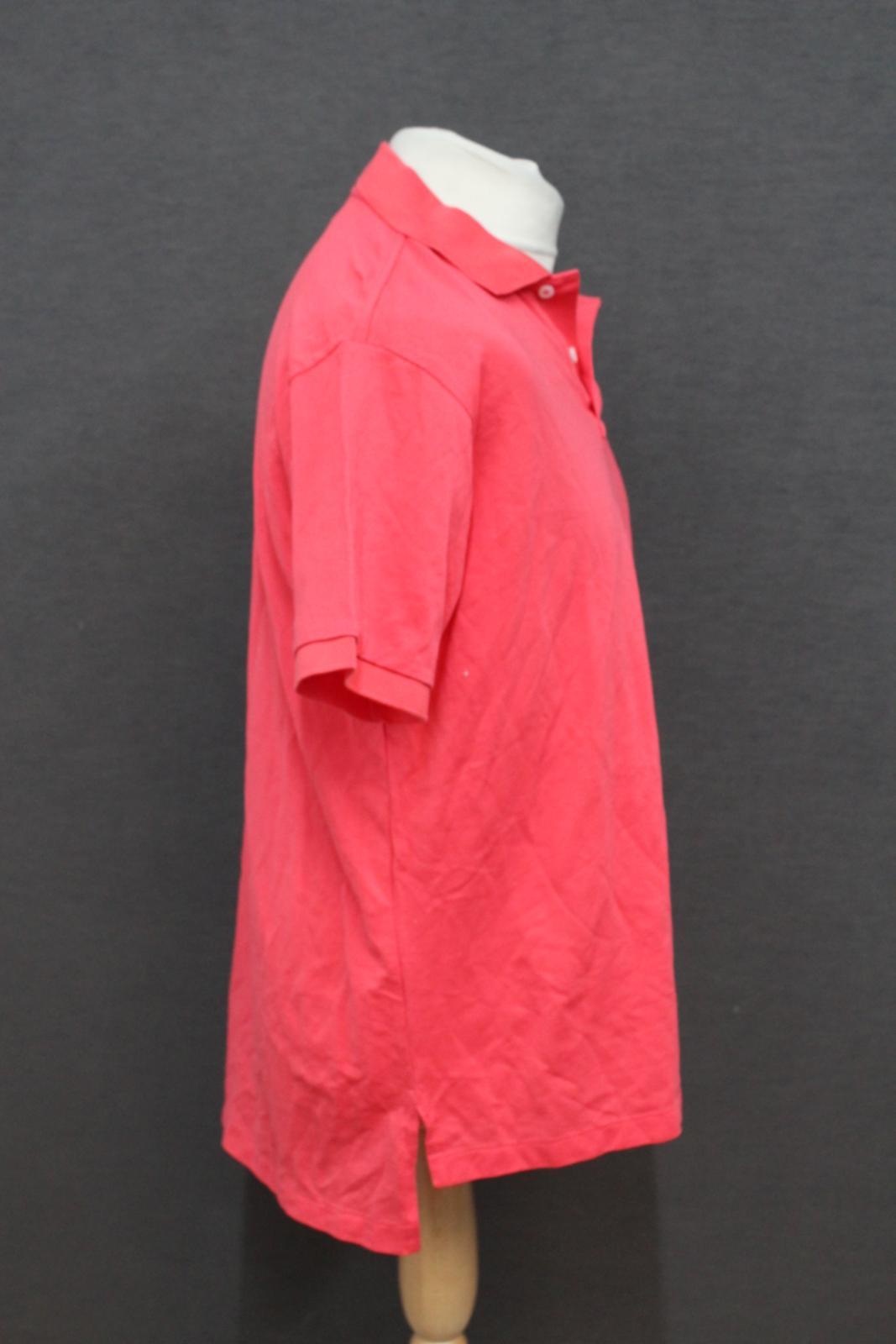 Ralph-Lauren-Polo-para-hombre-de-color-rosa-de-algodon-Manga-Corta-Camisa-Polo-De-Ajuste miniatura 5