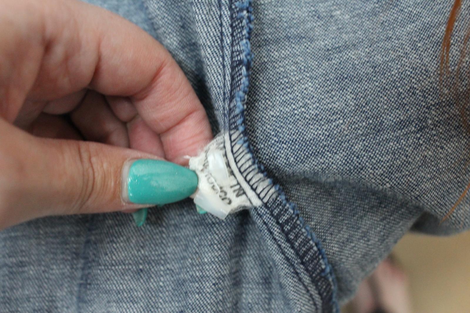 Lee-Jeans-de-hombre-Vintage-Denim-Azul-Algodon-con-Corchetes-Cierre-Mangas-Largas-Camisa-S miniatura 9