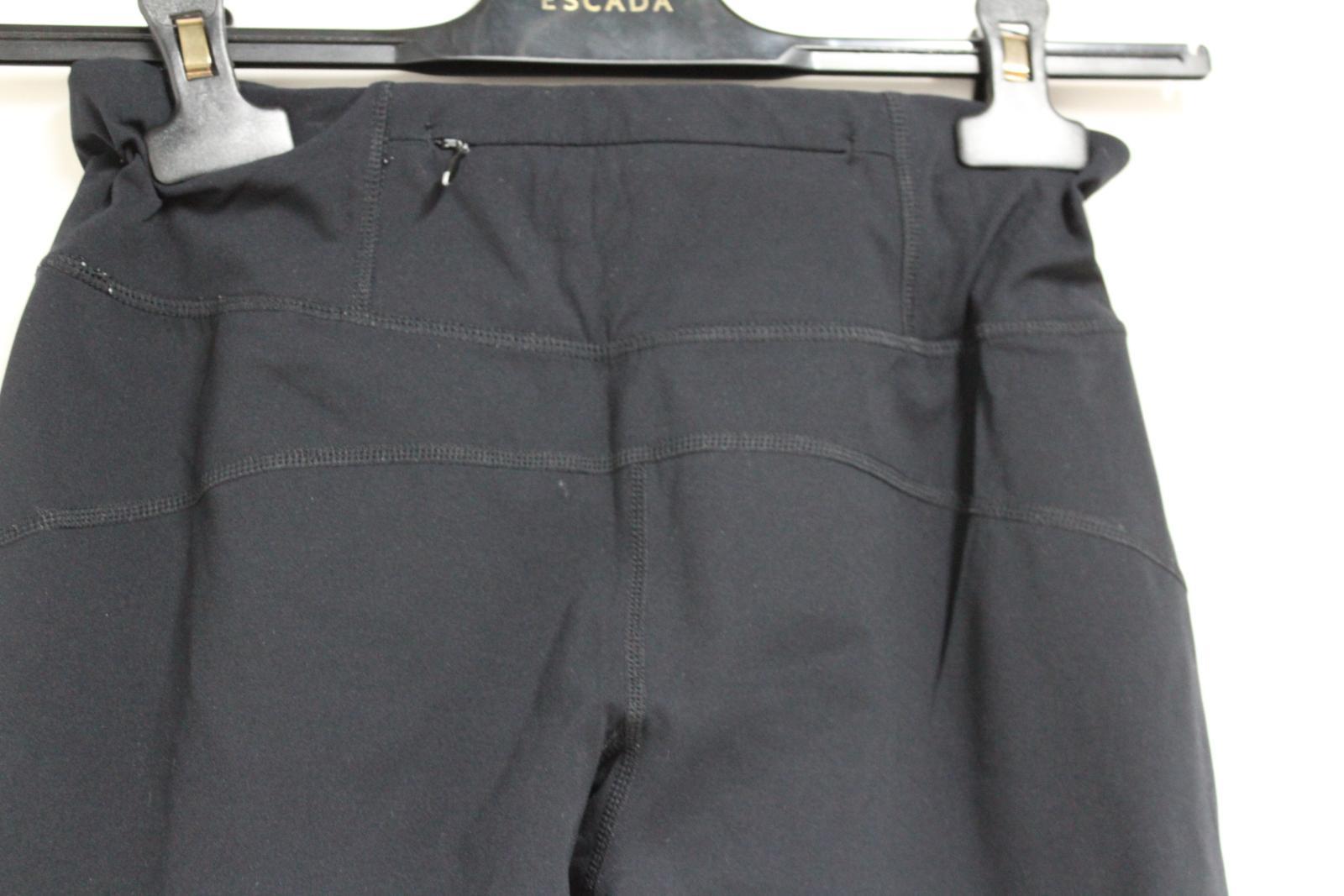 Sweaty-Betty-Ladies-Negro-3-4-piernas-Corto-Leggings-Activewear-pequeno-W26-L16 miniatura 8