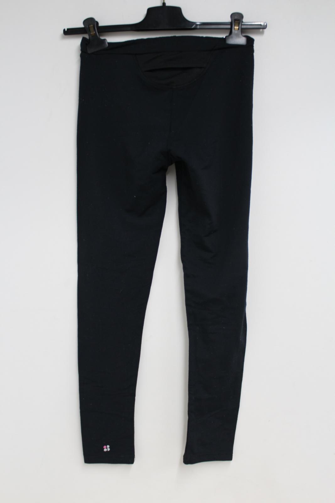Sweaty-Betty-Ladies-Negro-Chandal-Activewear-Fitness-Leggings-Talla-S-W24-L26 miniatura 7