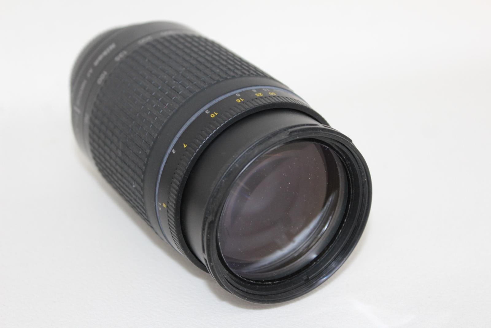 NIKON-F65-Camara-Con-Nikkor-28-80mm-y-70-300mm-y-Tamron-Hoya-Lentes-52mm miniatura 3