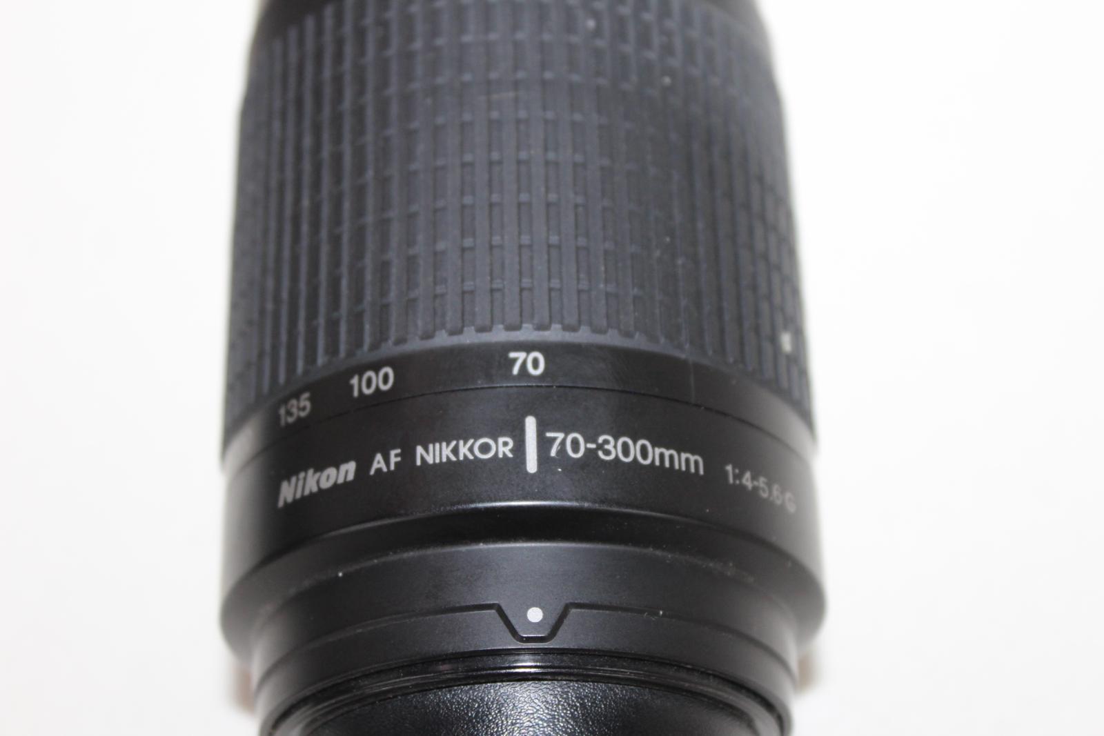 NIKON-F65-Camara-Con-Nikkor-28-80mm-y-70-300mm-y-Tamron-Hoya-Lentes-52mm miniatura 4