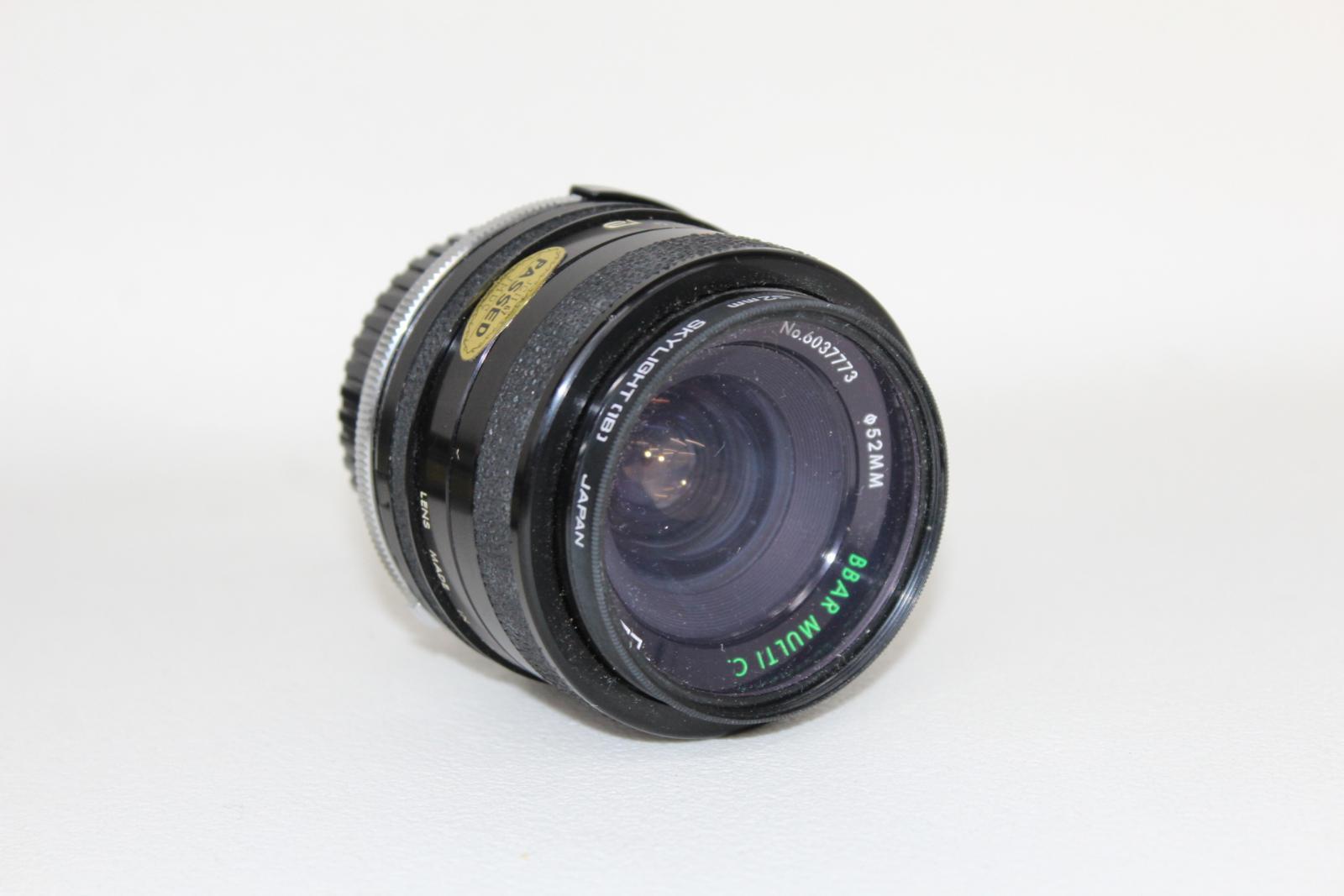 NIKON-F65-Camara-Con-Nikkor-28-80mm-y-70-300mm-y-Tamron-Hoya-Lentes-52mm miniatura 5