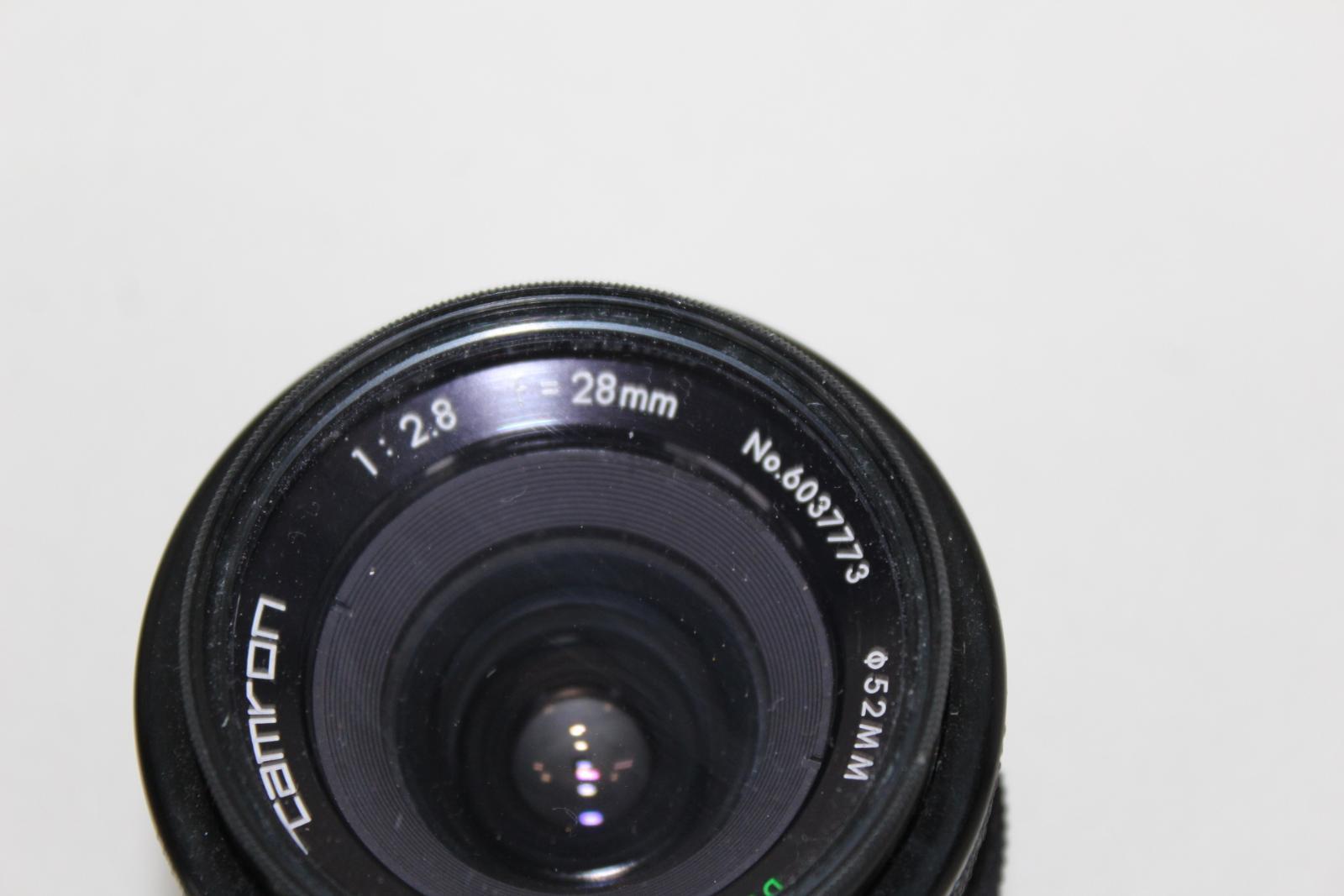 NIKON-F65-Camara-Con-Nikkor-28-80mm-y-70-300mm-y-Tamron-Hoya-Lentes-52mm miniatura 6