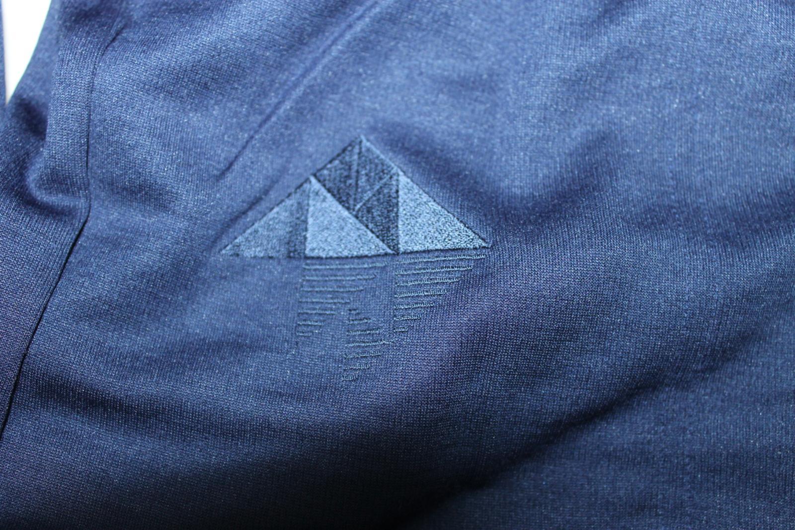 Homme RAPHA Classique Long Sleeve grimpe blanc marine laine mélangée Jersey Taille S Bnwt