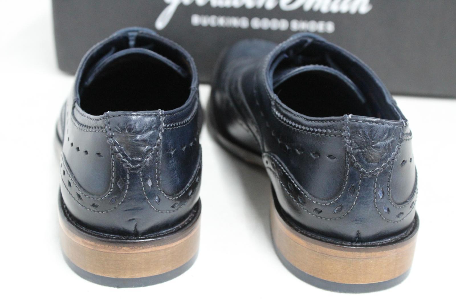 GOODWIN-para-hombre-Azul-Marino-Bowland-SMITH-Cuero-Oxford-Zapatos-UK-7-EU41-Nuevo miniatura 9